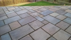 Autumn Brown Patio Grade - 4 Size / 20m² Project Pack